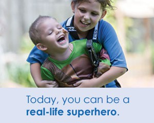 Superhero Appeal, Make-A-Wish